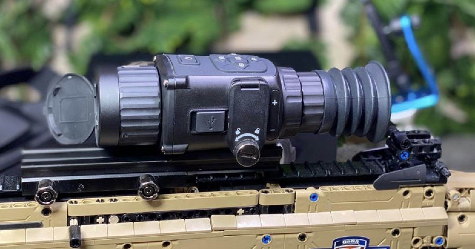 热瞄新势力-莱特LT雷电全功能热成像 一机三用 超小体积 海康代工